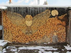 aranjament lemne